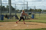 Softball batter