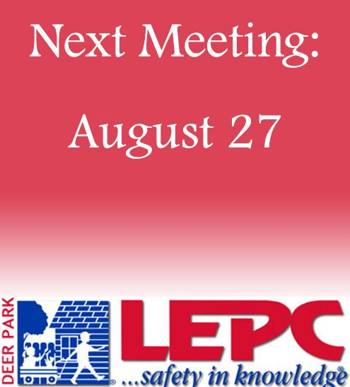 August 27 Next Meeting