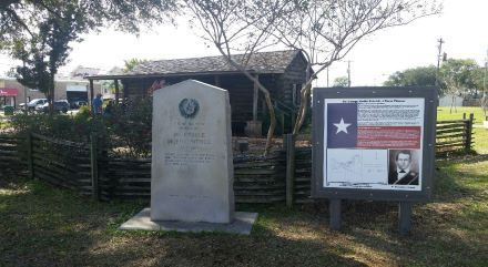 Centennial Marker and Storyboard at Patrick's Cabin