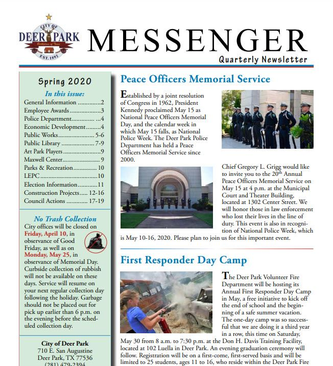 Messenger News