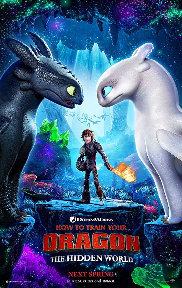 How to Train Your Dragon The Hidden World Opens in new window